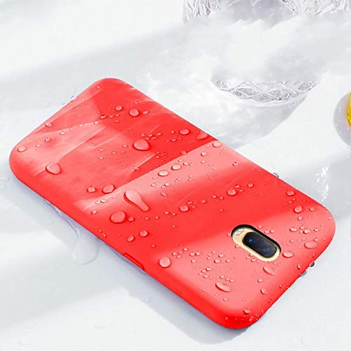 REALCASE Liquid Silicone Back Cover: Oneplus 6T Case