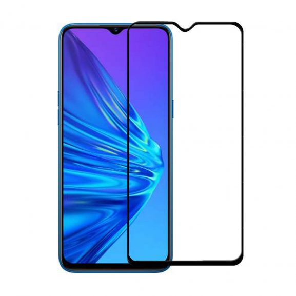 Red Robin Tempered Glass for Realme 5i