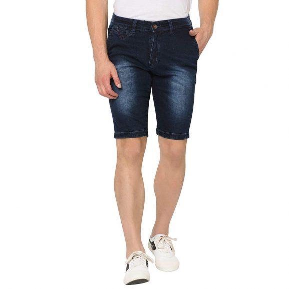STUDIO NEXX Men's Slim Fit Denim Shorts