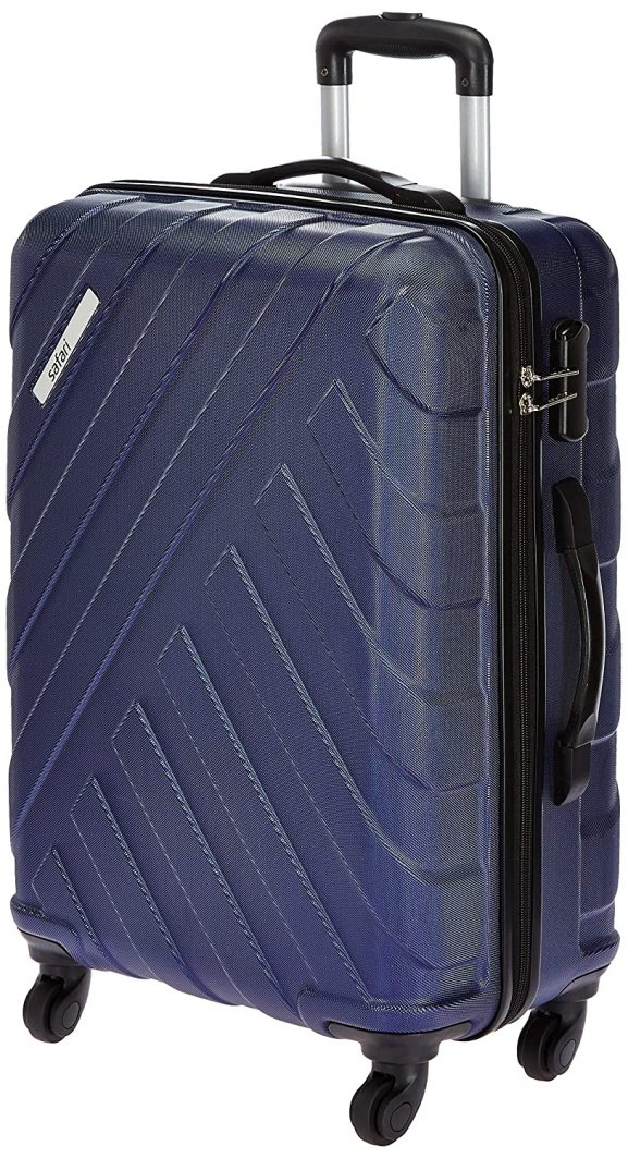 Safari Ray Polycarbonate Midnight Blue Hardsided Luggage