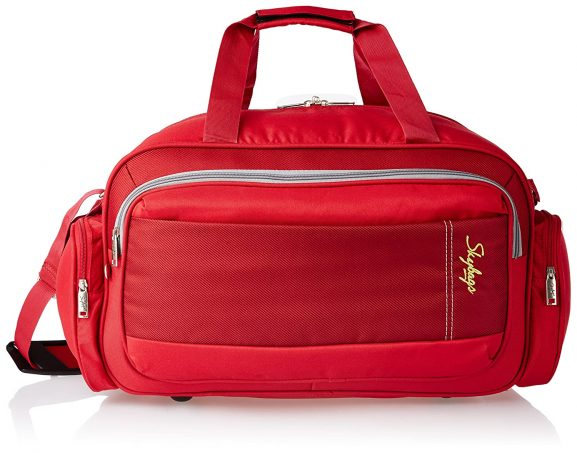 Skybags Cardiff Polyester 52 cms Red Travel Duffel