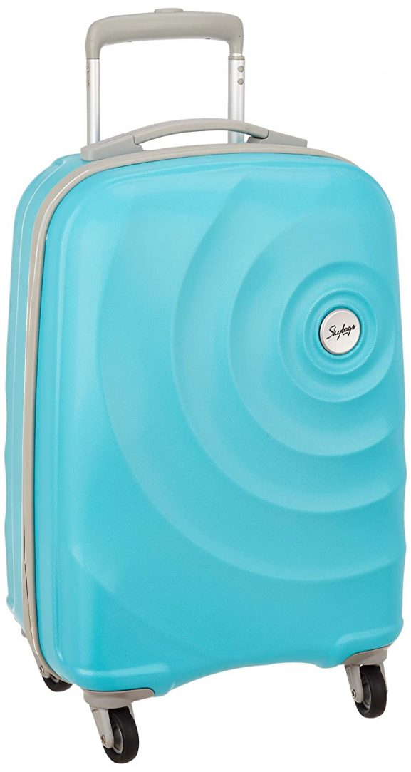 Skybags Mint Polycarbonate Turquoise Hardsided Cabin Luggage