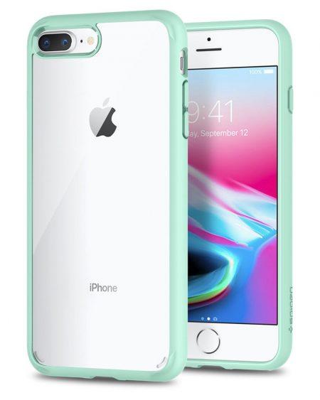 Spigen Ultra Hybrid Back Cover: iPhone 7 Plus Transparent Case