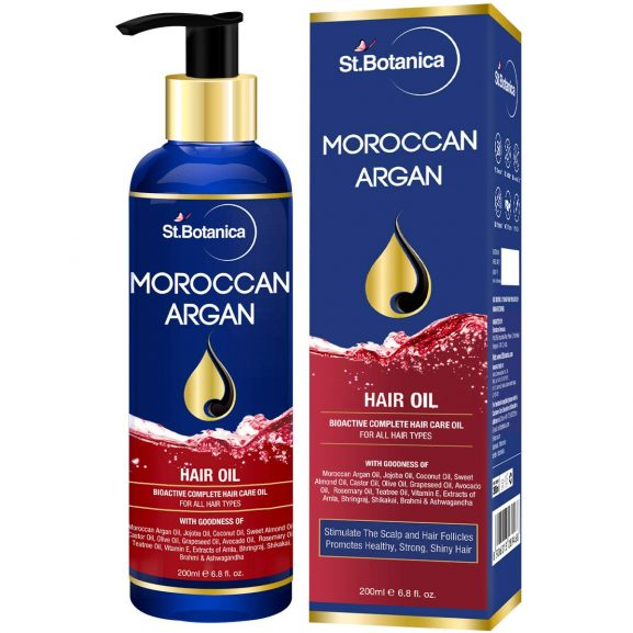 St. Botanica Moroccan Argan Hair Oil