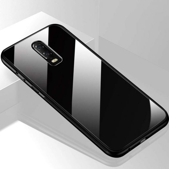 TheGiftKart Luxurious Toughened Glass Cover: Oneplus 6T Glass Case