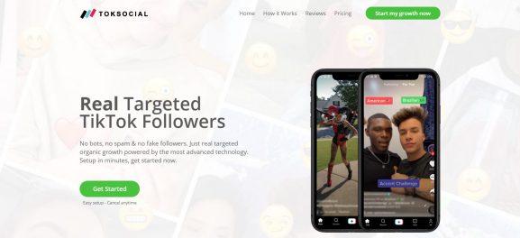 Toksocial: Site to Buy TikTok Followers