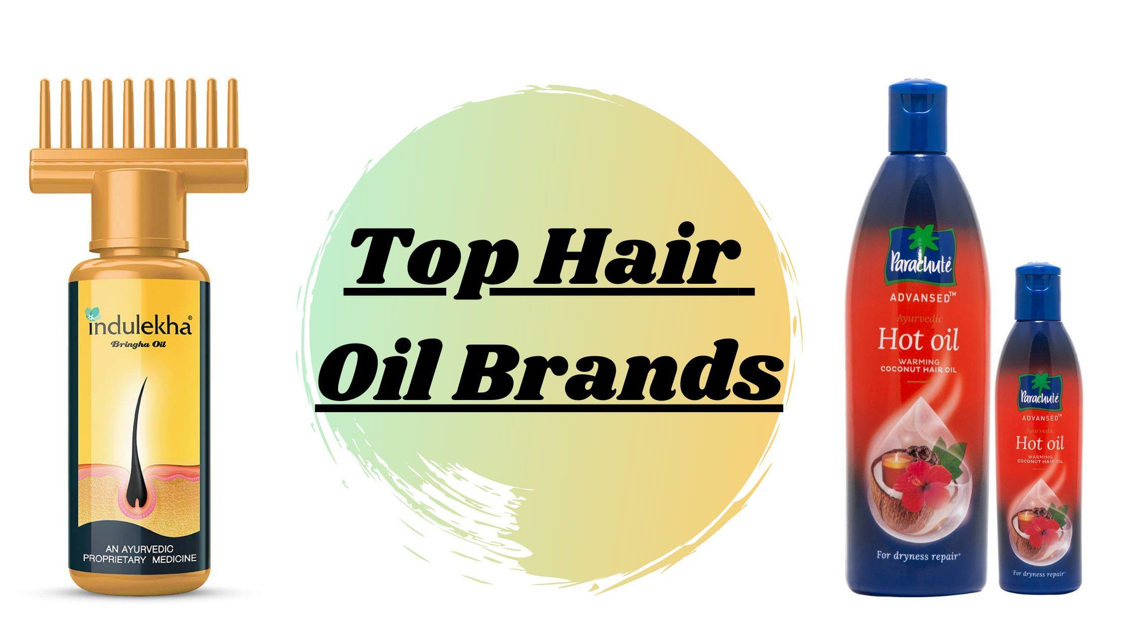 Top Hair Oil Brands