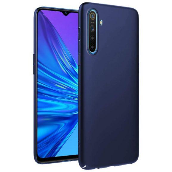 UbrosNetwork Ultra Slim Hard Back Case Cover for Realme 5