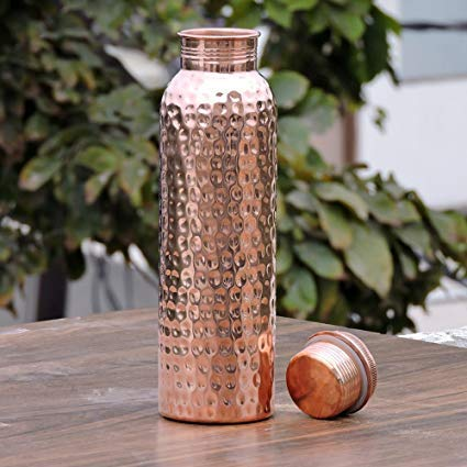 YourKitchen Copper Water Bottle