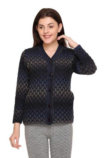 aarbee Women's Blended V-Neck Cardigan: aarbee Sweater For Women