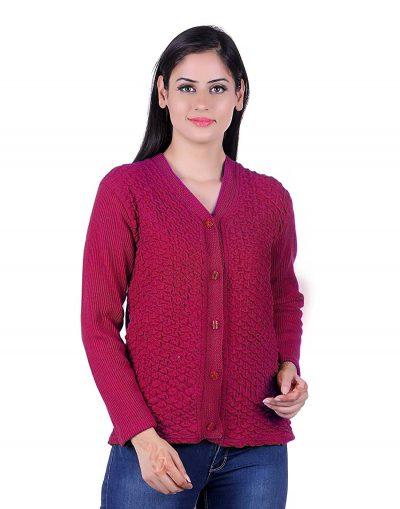 eWools Women's Winterwear Woolen Sweater: Woolen Sweater For Women