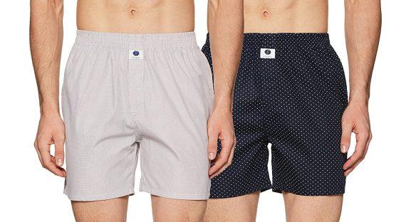 Amazon Brand Symbol Men's Regular Printed Boxers