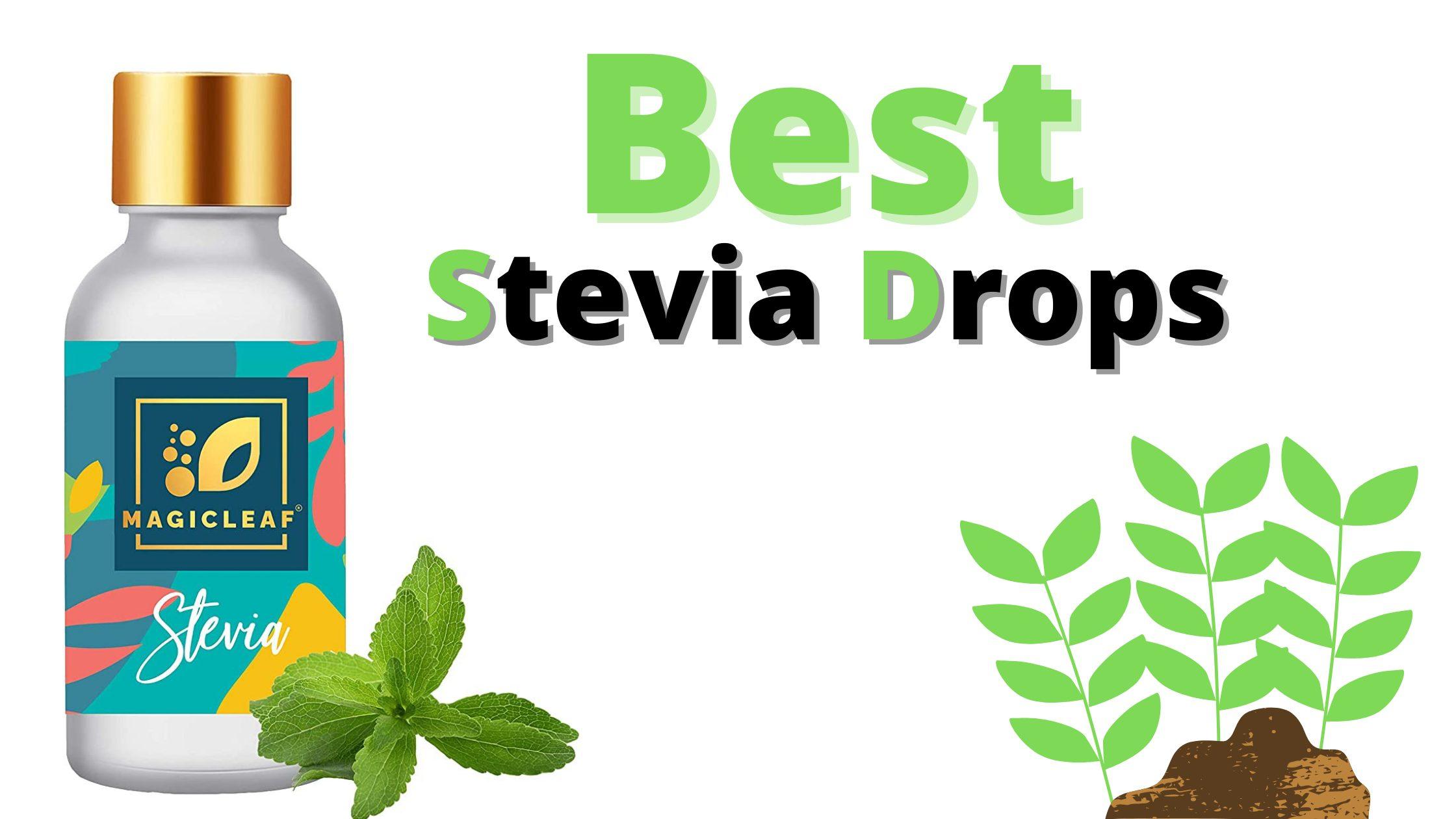 Best Stevia Drops