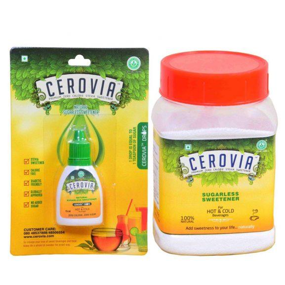 Cerovia Stevia Liquid Drops