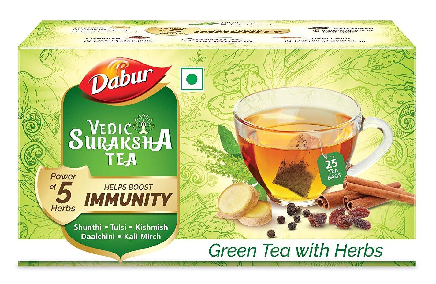 Dabur Vedic Suraksha Green Tea