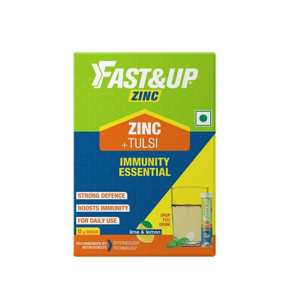 Fast and Up Zinc and Tulsi
