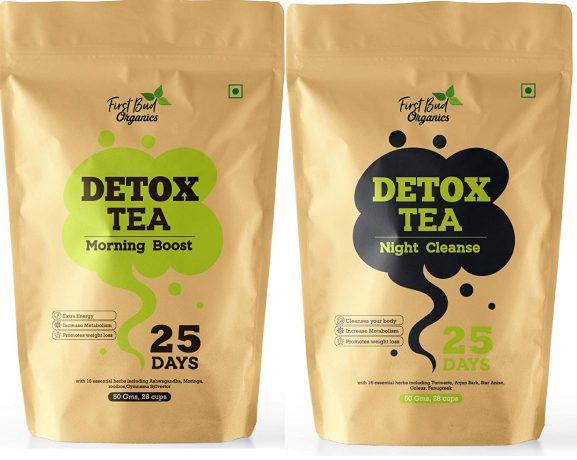 First Bud Organics Detox Tea
