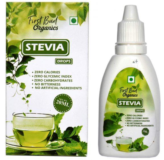First Bud Organics Stevia Drops