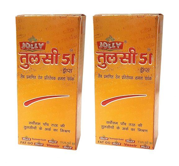 Jolly Pharma Tulsi Drops
