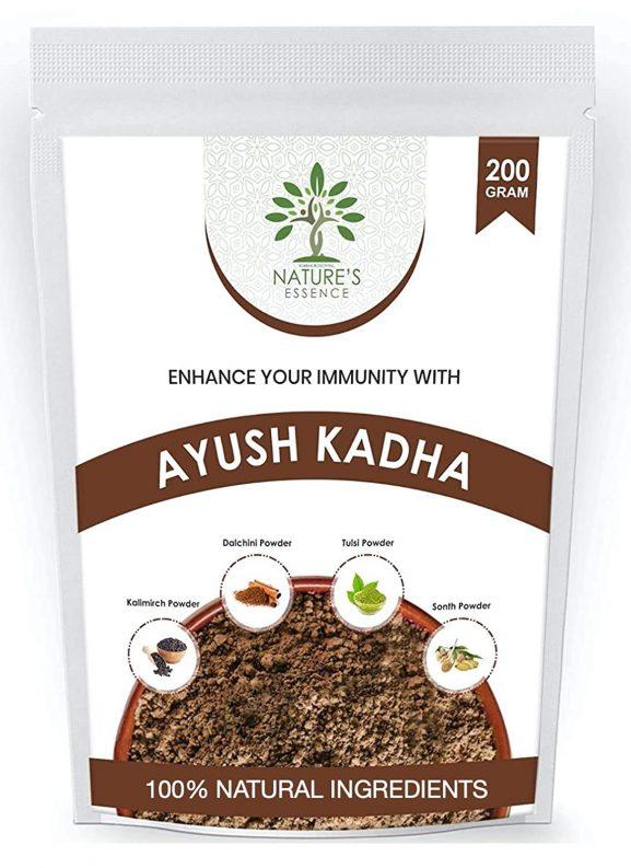 KBX Nature's Essence Ayush Kadha Mix/Kwath Powder for Immunity Booster