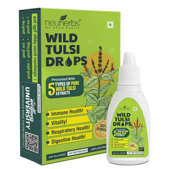 Neuherbs Wild Tulsi Drops