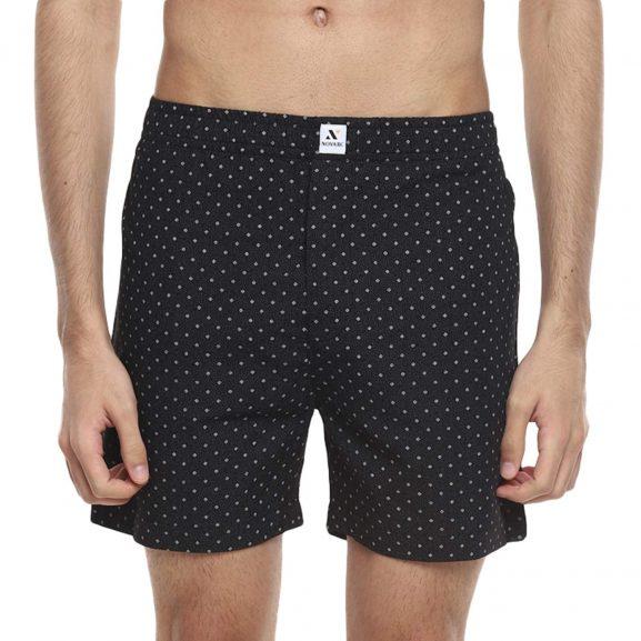 Novarc Men's Regular Fit Cotton Printed Boxers