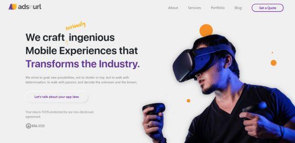 Ads N Url - 10 best web development companies in delhi