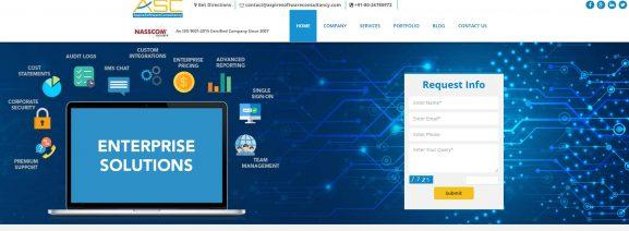 Aspire Software Consultancy - 10 best web development companies in bangalore