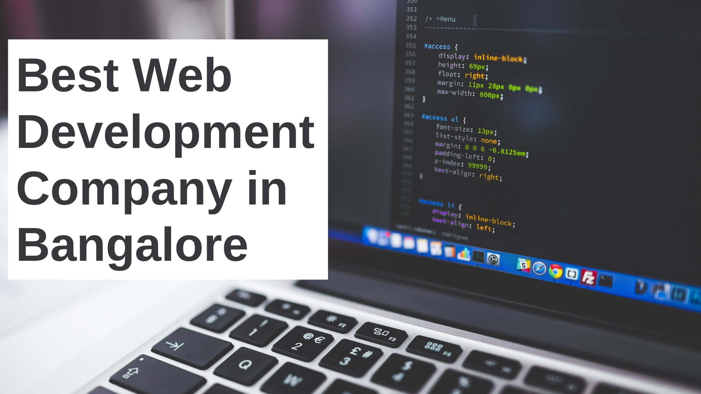 Best Web Development Company in Bangalore