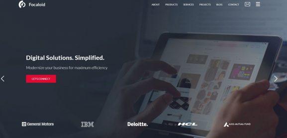 Focaloid Technologies - top 10 web development companies in bangalore