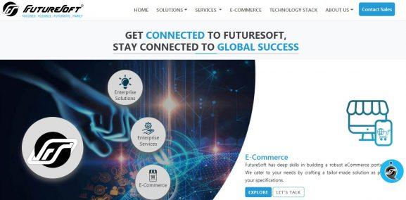 Futuresoft India - top 10 web development companies in delhi