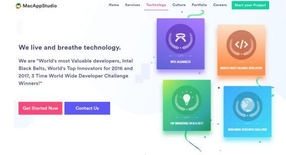 Mac App Studio - 10 best app development companies in india