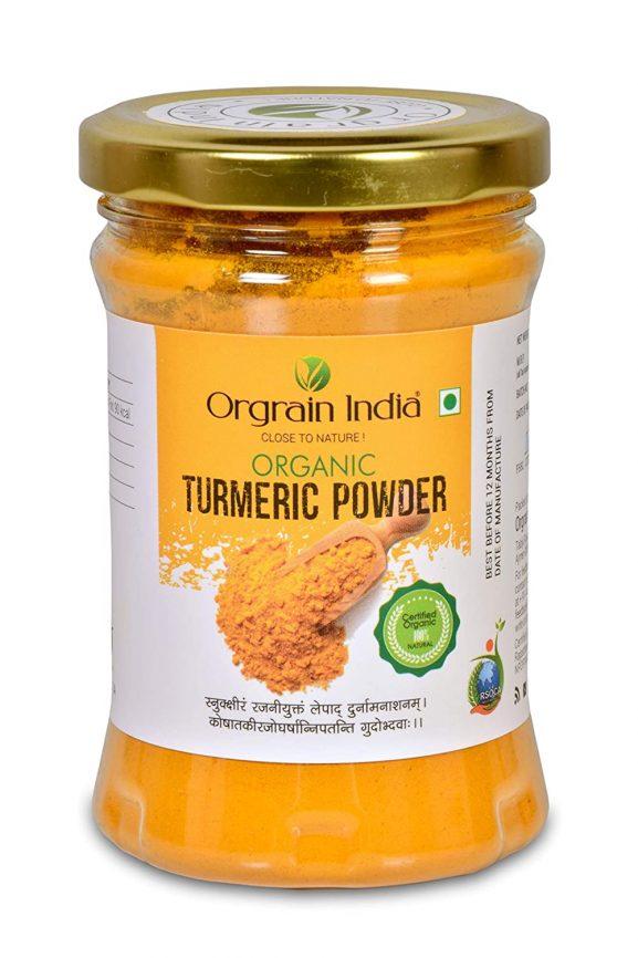 Orgrain India USDA Certified Organic Turmeric Powder