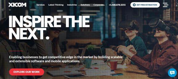 Xicom Technologies - 10 best web development companies in delhi