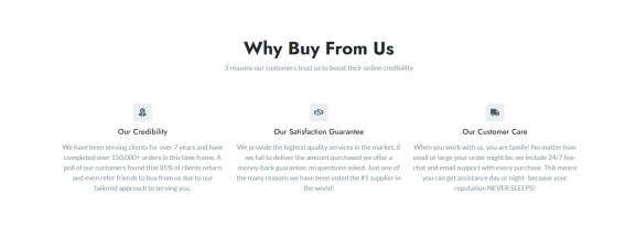 Benefits of buying services from GetViral